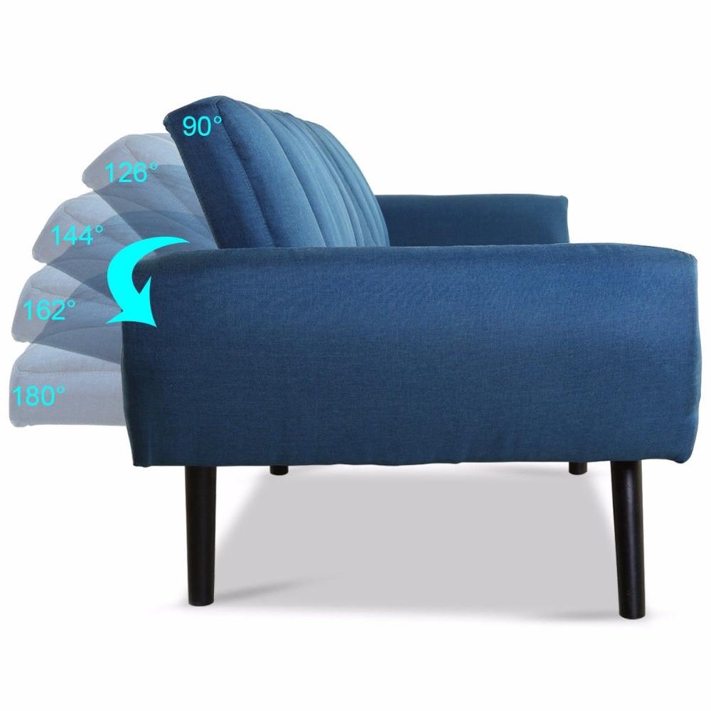 Convertible Mattress Sofa Futon Bed