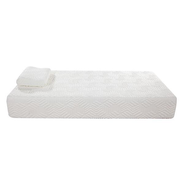 10 Inch Twin Size Memory Foam Mattress 2 Layers