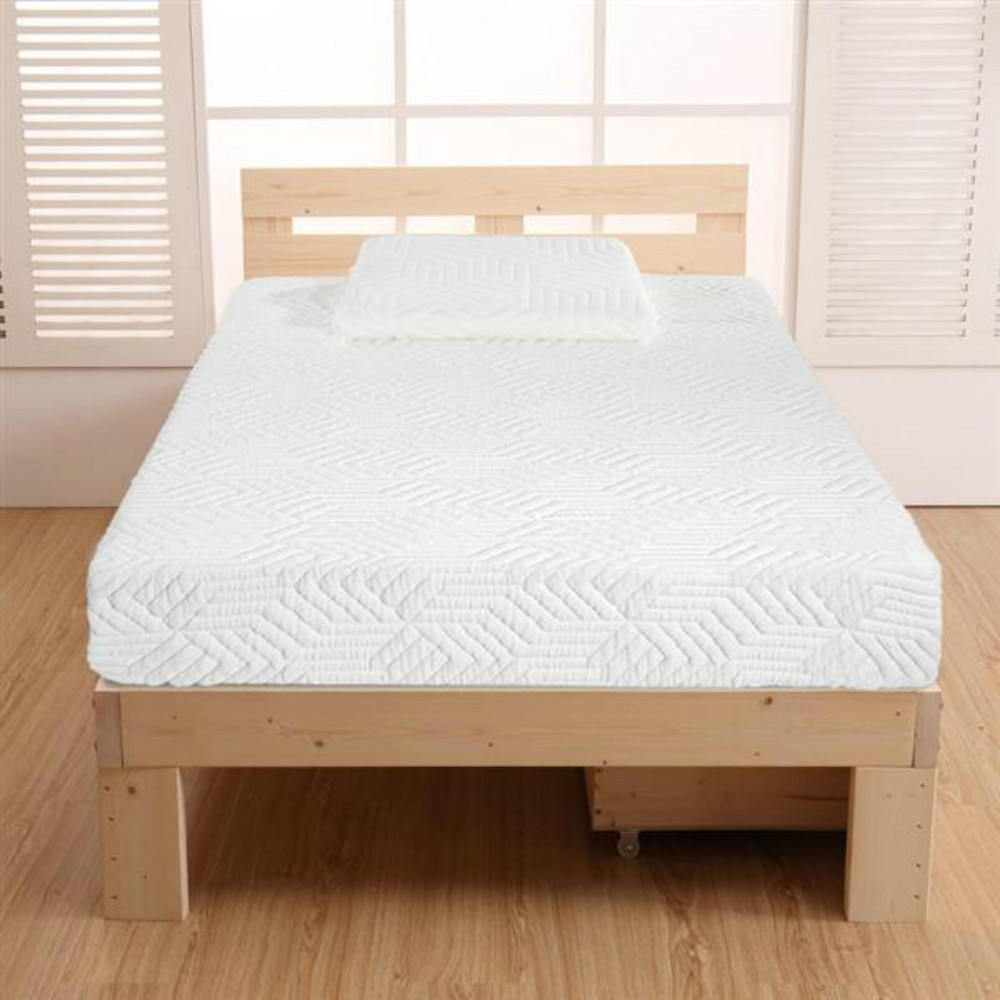 10 Inch Twin Size Memory Foam Mattress 2 Layers