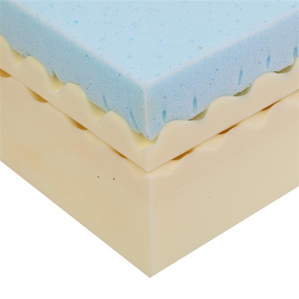 10 Inch Medium Firm Four-Layers Memory Foam Queen Size Mattress