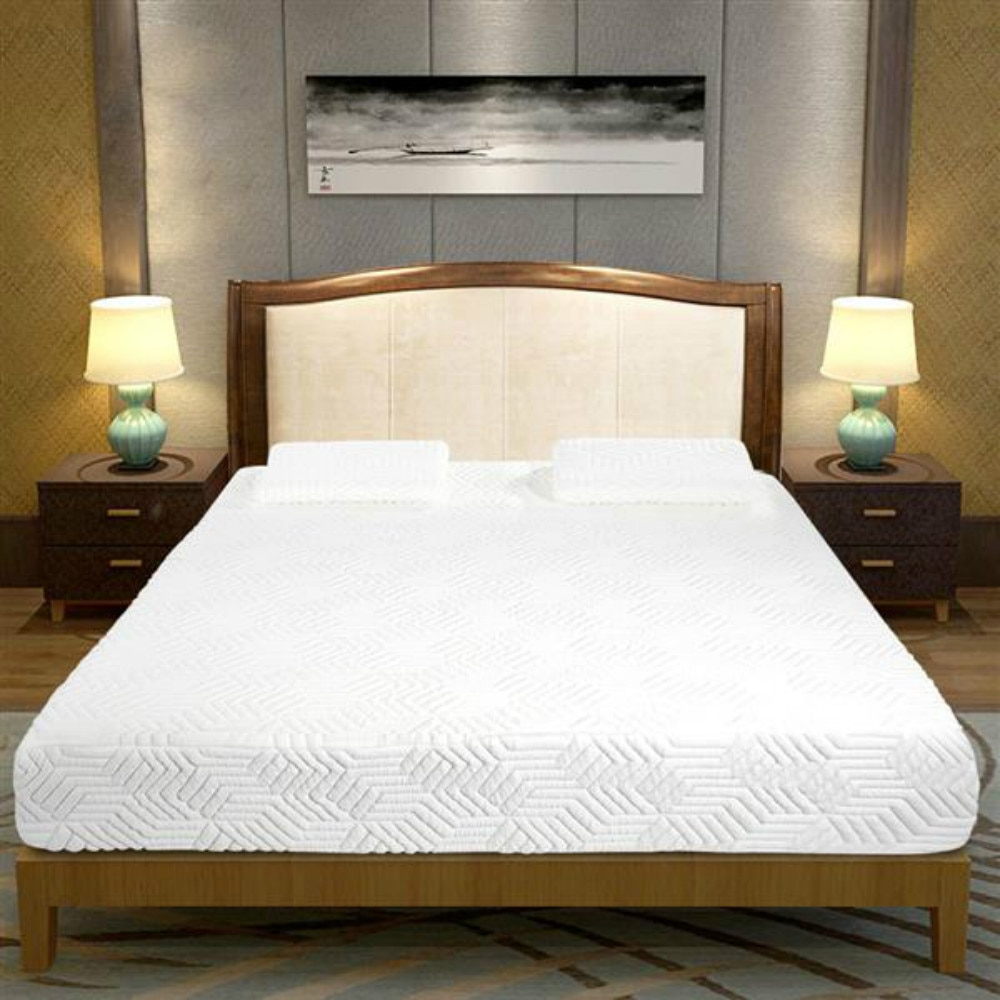 10 Inch Medium Firm Four-Layers Memory Foam Queen Size Mattress