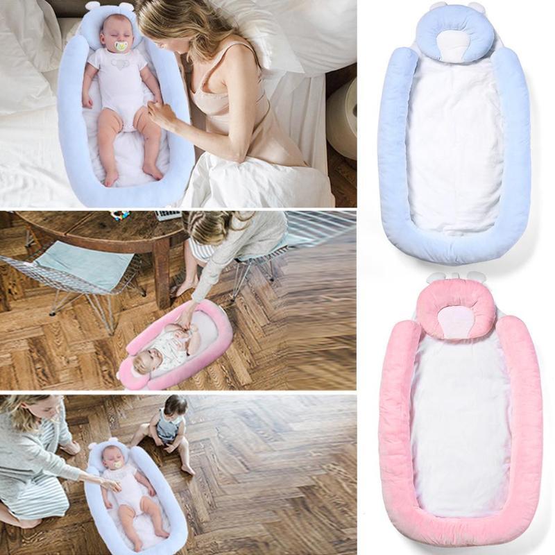 Crib Middle Bed Anti Pressure Anti Rollover Portable Baby Mattress