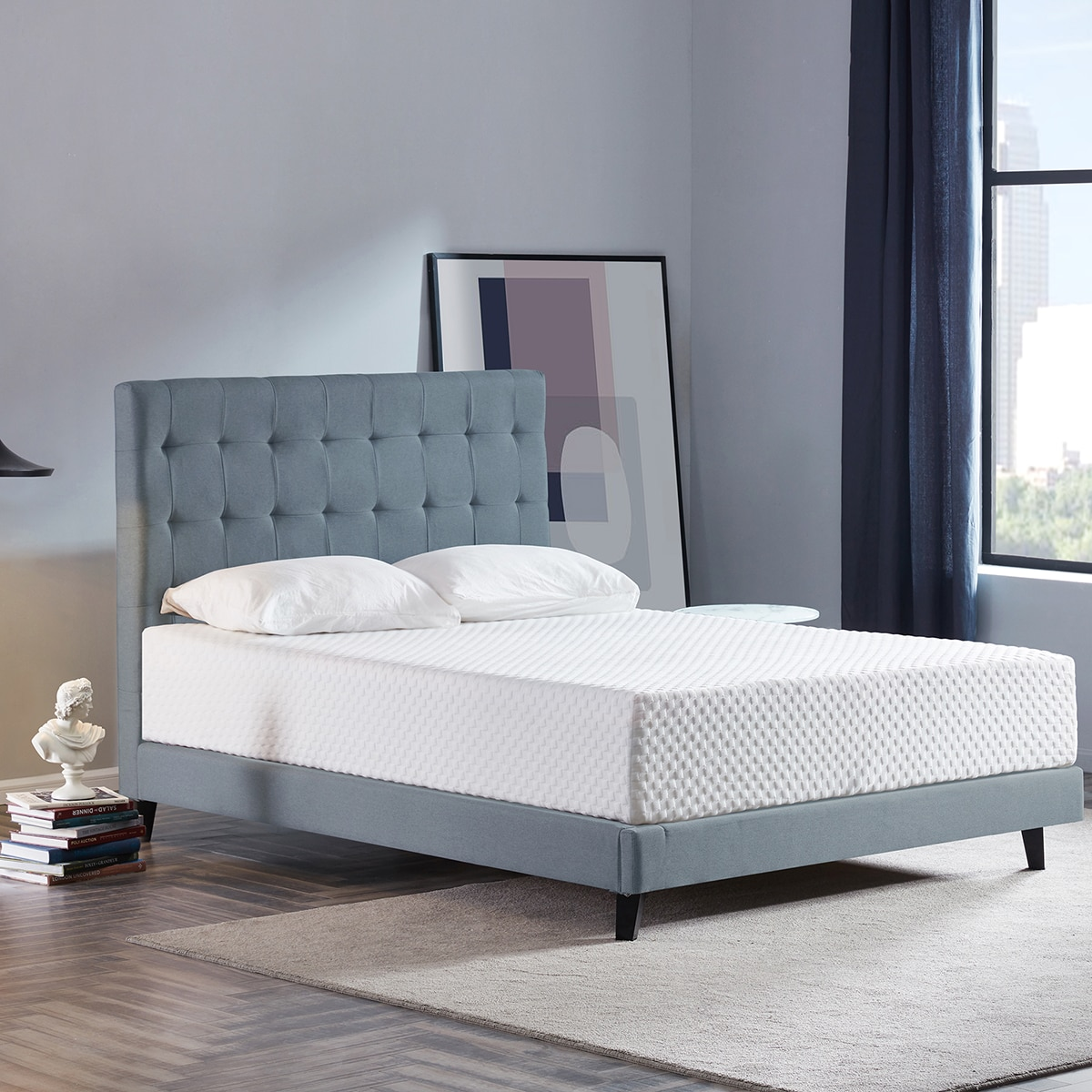 High Density 3 Layers 12 Inch Soft Breathable Memory Foam Mattress