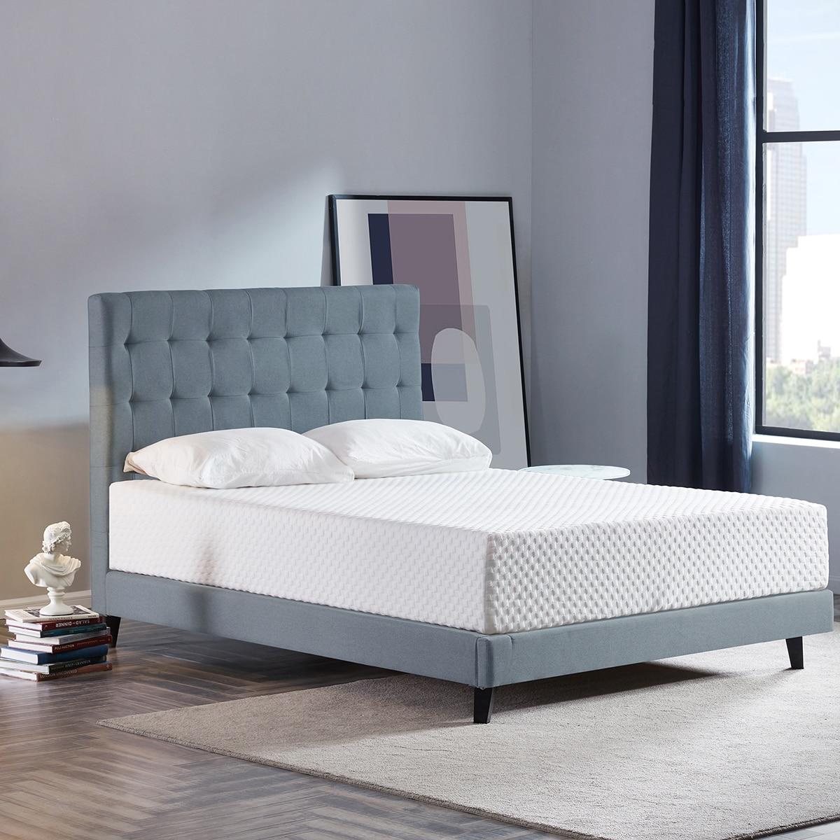 High Density 3 Layers 12 Inch Soft Breathable Memory Foam Mattress